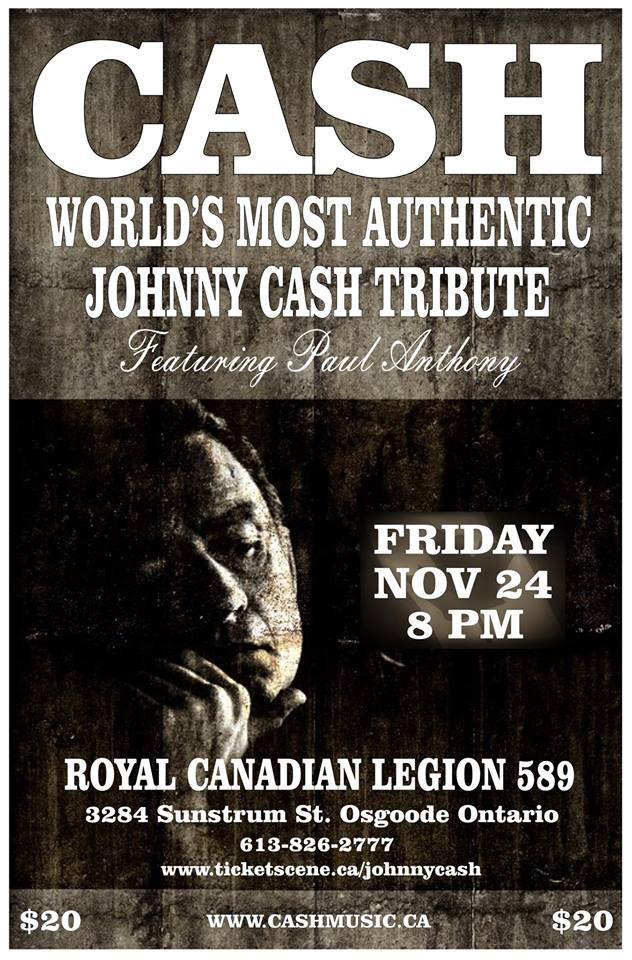 Johnny Cash Tribute Band Canada Tour Dates Cash Music